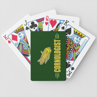 Funny Corn Bicycle Playing Cards