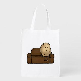 Funny couch potato