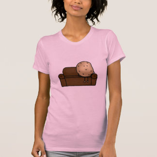 Funny couch potato t-shirts