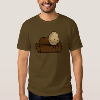 Funny couch potato tshirts