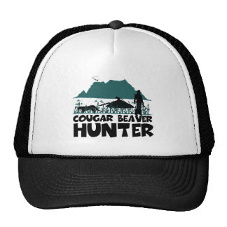 Funny cougar hats