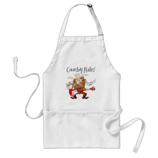 Funny Country Music Guitarist Apron