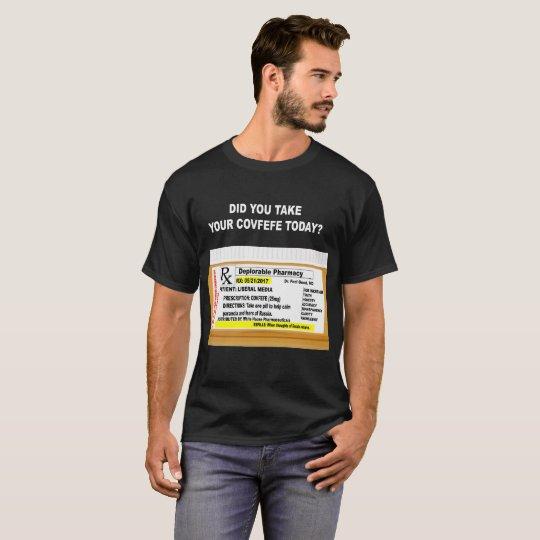 Funny Covfefe Prescription T-Shirt