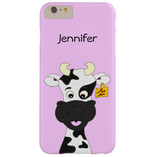 Funny cow cartoon barely there iPhone 6 plus case