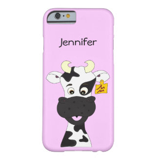 Funny cow cartoon kids barely there iPhone 6 case