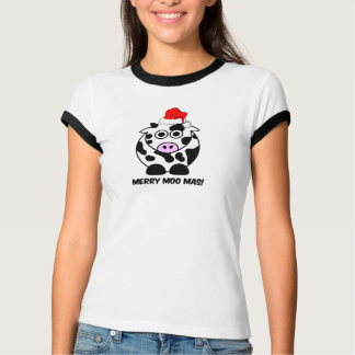 Funny cow Christmas T-Shirt