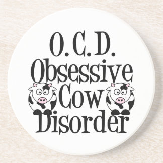 Funny Cow Coaster