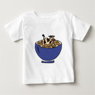 Funny Cow in Bowl of Toasted Oats Shirts