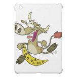 funny cow jumping over moon cartoon iPad mini case