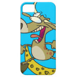 funny cow jumping over moon cartoon iPhone 5 cover
