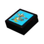 funny cow jumping over moon cartoon jewelry boxes