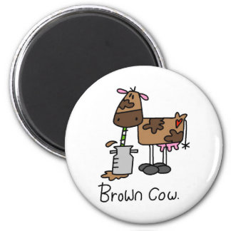 Funny Cows 6 Cm Round Magnet