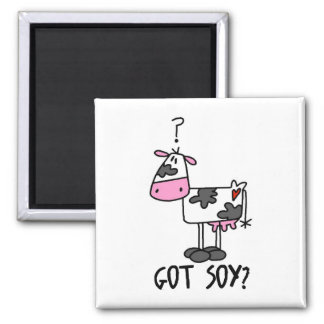 Funny Cows Refrigerator Magnet