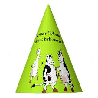 Funny Cows Party hat