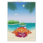 Funny Crab Cards