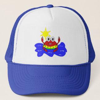 funny crab hat
