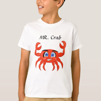 Funny Crab illustration T-Shirt