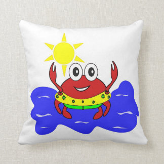 funny crab Pillow Throw Cushions