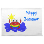 funny crab Placemat