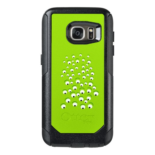 Funny Crazy and Curious Green Eyed Monster OtterBox
