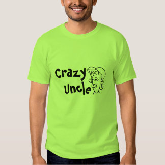Funny Crazy Uncle Customize T-shirts