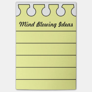 Funny Creative Ideas Personalized Post-it Notes