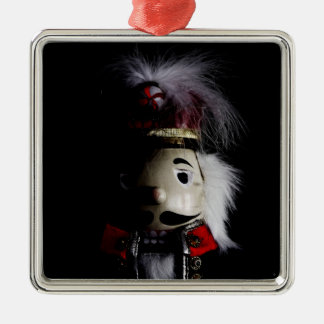 Funny Creepy Nutcracker Christmas Ornament