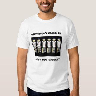 funny cricket tee shirt
