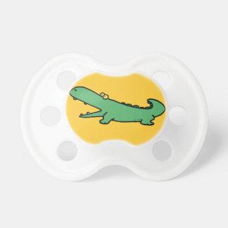 funny crocodile pacifiers