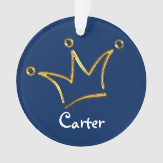 Funny Crown gold + your backgr. & text