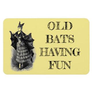 Funny Cruise Cabin Door Magnet - Old Bats