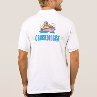 Funny Cruise Ship Polo Shirt