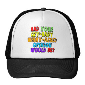 Funny Cry Baby T-shirts Gifts Cap