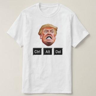 Funny CTRL ALT DEL Impeach Trump - Anti Trump T-Shirt
