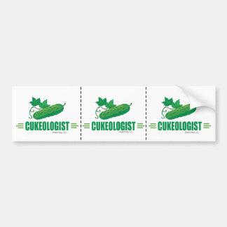 Funny Cucumber Bumper Sticker