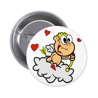 Funny Cupid 6 Cm Round Badge