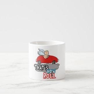 Funny Cupid Valentine Espresso Cup