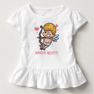 Funny Cupid Valentine's Day | Ruffle Tee