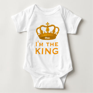 Funny Custom Name I AM THE KING Gift V01A1 Tees