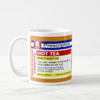 Funny Custom Personalized Prescription Hot Tea Mug