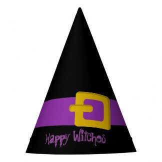 Funny custom witch party hat
