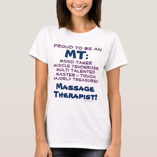 Funny CUSTOMIZABLE Massage Therapist Therapy T-Shirt