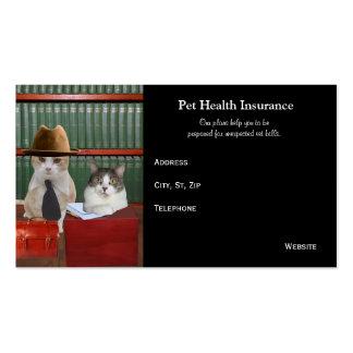 Funny Customizable Pet Business Business Card Template