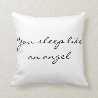 Funny customizable pillow, I know what you do Cushion