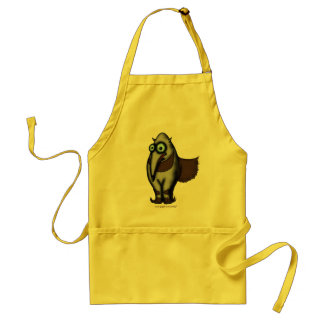 Funny cute anteater apron design