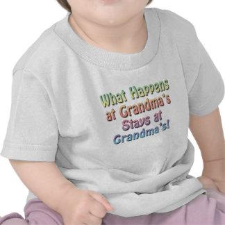 Funny Cute Baby T-Shirt Grandma s House