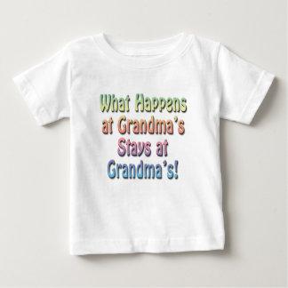 Funny Cute Baby T-Shirt, Grandma's House T Shirt
