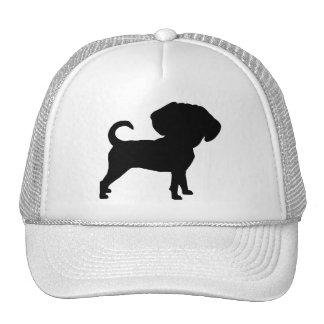 Funny Cute Big Head Puggle Dog Hat