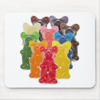 Funny Cute Gummy bear Herds Mouse Mat