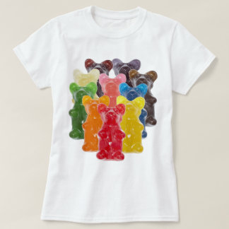 Funny Cute Gummy bear Herds T-Shirt